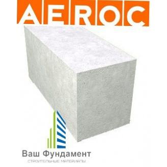 Газоблок Аерок D400 гладкий 300х200х600 мм Березань