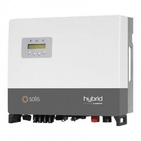 Гібридний інвертор SOLIS RHI-3P10K-HVES-5G (10 КВТ 3 ФАЗИ 2 MPPT)