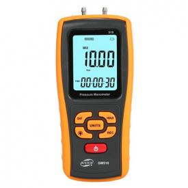 Микроманометр дифференциального давления USB ±10 кПа BENETECH GM510
