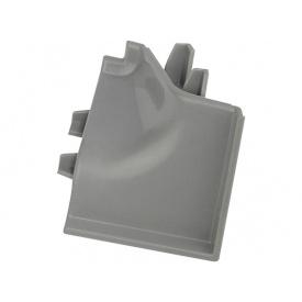 Угол к плинтусу Rehau 118 90* 98170 Оловяно-серый-внутренний