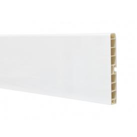 Цокольна Планка Volpato мм 4000 мм 150 білий глянець