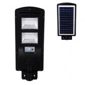 Уличный светодиодный фонарь UKC аккумуляторный с пультом 45W 7142 Черный