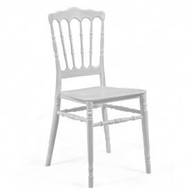 Штабелируемый стул Наполеон SDM пластиковый Белый