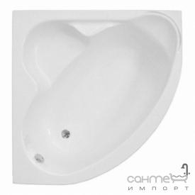 Угловая ванна Polimat Standard I 130x130 белая (00219)