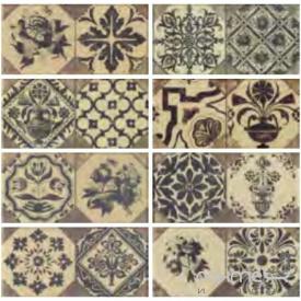 Клинкерная плитка декор 12x25 Gres de Aragon Retro