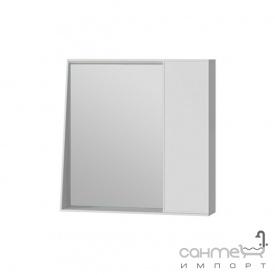 Зеркальный шкаф Ювента Manhattan 70 с LED подсветкой и выключателем белый