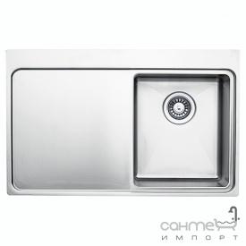 Кухонная мойка Ukinox Micro MMP 780.500 GT 10K R полированная правосторонняя