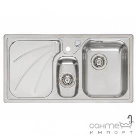 Кухонна мийка, інтегрований монтаж Reginoх President RIGHT (правобічна) Нержавіюча Сталь