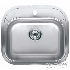 Кухонна мийка, виразний стандартний монтаж Reginoх Orlando AL/R Нержавіюча Сталь