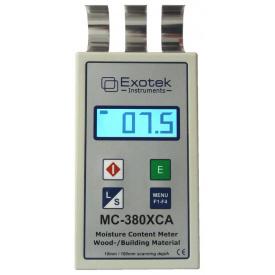 Влагомер СВЧ (профессиональный) для древесины и стройматериалов EXOTEK MC-380XCA