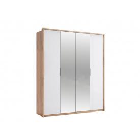 Шкаф четырехдверный Асти с зеркалами