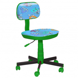 Крісло дитяче Кіндер Цифри (пластик зелений)