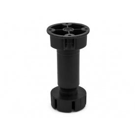 Опора регулируемая для кухонного стола GIFF мм 150 черный