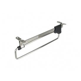 Вешалка выдвижная GIFF мм 250 никель/черный