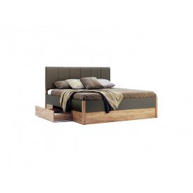 Кровать Рамона 180х200 мягкая спинка с ящиками