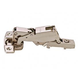 Петля накладная с доводчиком Clip-on Hafele METALLA D SM N 165* d=35 никель 315.02.700