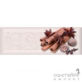 Плитка керамическая декор ABSOLUT KERAMIKA Serie Spices Decor 01 (корица, бадьян)