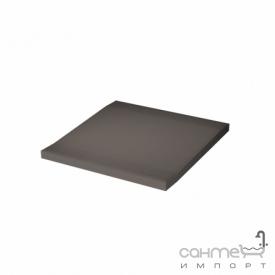 Плитка для душа переходной элемент 10x10 RAKO Taurus Color 07 S Dark Grey Темно-Серый TTP 12007