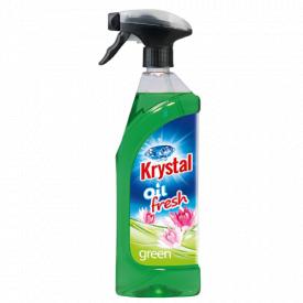 Освежитель на масляной основе зеленый KRYSTAL 750мл