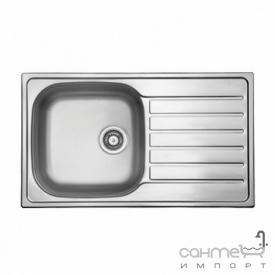 Кухонна мийка Ukinox Hypnos 860.500 GT 8K P н / с полірована зворотний