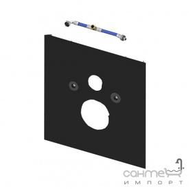 Нижняя стеклянная панель для подвесного унитаза TECE TECElux 9 650 105 черная