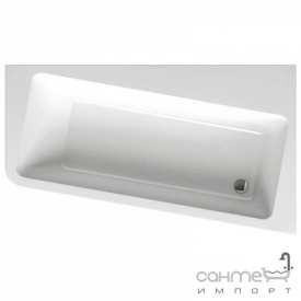 Асимметричная акриловая ванна Ravak 10 Degree 160x95 правосторонняя C841000000 белый