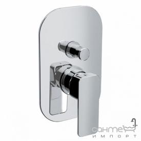 Змішувач для ванни прихованого монтажу Eurorama Тоно PE144030C хром