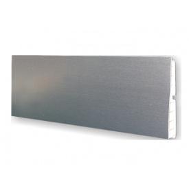 Цокольна Планка Volpato мм 4000 мм 100 алюміній гладкий
