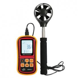 Анемометр-термометр 0,8-45м / с -10-45 градус C BENETECH GM8901X