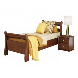 Ліжко Діана 80х200 з бука щита