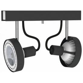 Потолочный светильник Nowodvorski CROSS GRAPHITE 9597 Черный