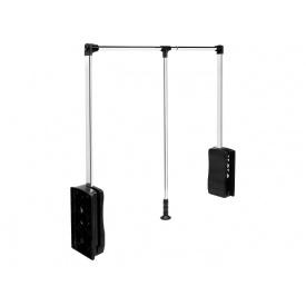 Лифт-пантограф GIFF 830-1150 нагрузка 10 кг Soft stop хром/черный