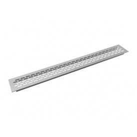 Заглушка вентиляционная GIFF L484 H60 алюминий