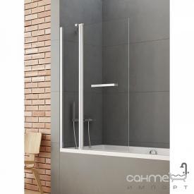 Шторка для ванни New Trendy New Soleo 120 P-0027 прозора