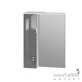Зеркальный шкаф Ювента Trento TrnMC-60 левый серый