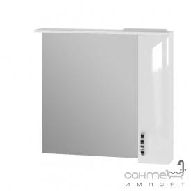 Зеркальный шкаф Ювента Trento TrnMC-87 правый белый