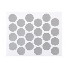 Заглушка минификса самоклеющаяся Weiss d=20 металлик 24 шт 5067
