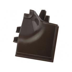 Угол к плинтусу Rehau 118 90* 96102 Сепия коричневая-внутренняя