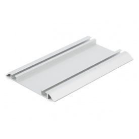 Направляющий профиль нижний Slider Project мм 5000 серебро
