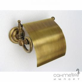 Тримач для туалетного паперу з кришкою Pacini & Saccardi Vienna 30020/B бронза