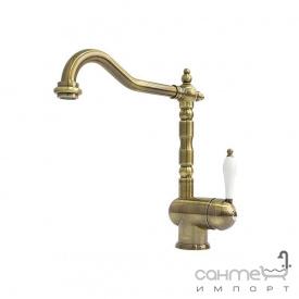 Смеситель для кухни Fabiano FKM 37 Brass Antique Латунь