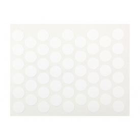 Заглушка конфирмата самоклеющаяся Weiss d=10 белый 50 шт 1110
