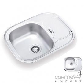 Кухонна мийка Ukinox Galant 628.488 GW 6K M матова оборотна