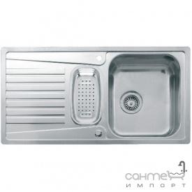 Кухонна мийка, виразний стандарнтий монтаж Reginoх Admiral 1,5 RIGHT (правобічна) Нержавіюча Сталь