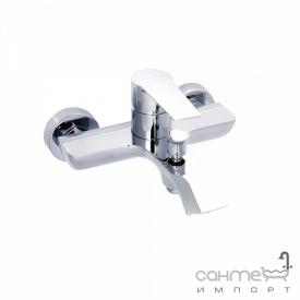 Настенный смеситель для ванны, без душевого гарнитура Clever Seleccion Agora 98678 Хром