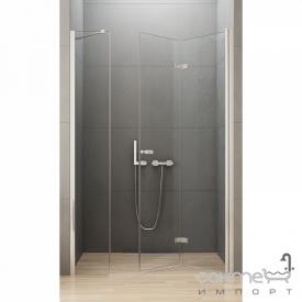 Душевая дверь складная New Trendy New Soleo Plus P 110 D-0152A/D-0094B правая прозрачное стекло