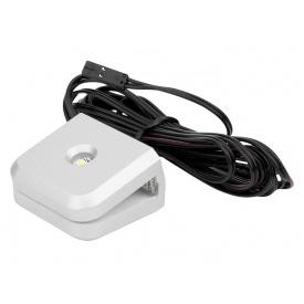 Клипса LED для стеклянной полки GIFF Mensa 14W белый теплый свет металлик БП SPS