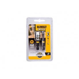 Набор бит DeWALT IMPACT TORSION с магнитным держателем PH2 ударная мм 50 мм 2 ед. DT70536Т