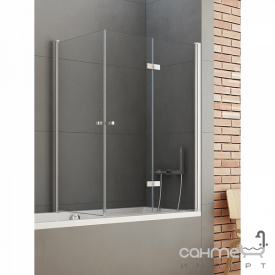 Шторка для ванни New Trendy New Soleo P 120 P-0031 / P-0024 права прозоре скло