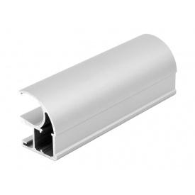Вертикальный открытый профиль Slider Premium серебро мм 5200